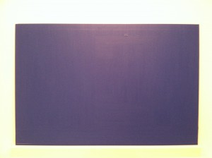 Sherwin Rivera TibayanInstallation View #2 (MoMA, Blue Monochrome, 1961, Yves Klein)