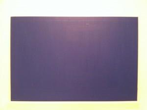 Sherwin Rivera TibayanInstallation View #2 (MoMA, Blue Monochrome, 1961, Yves Klein)