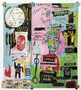 Basquiat, In Italian, 1983