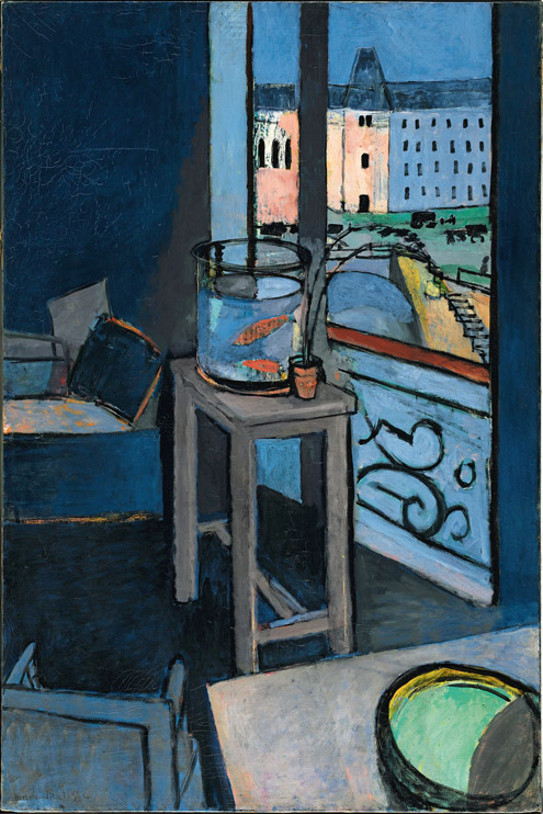 Interior with Goldfish, 1914