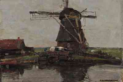 Piet Mondrian Windmill, 1905