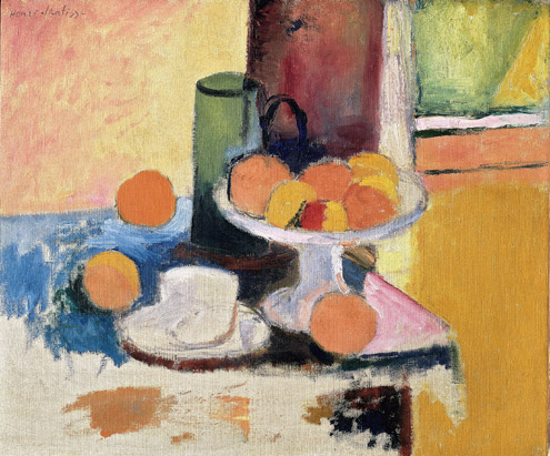 Still Life with Compote and Fruit, 1899