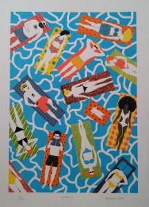 Boyoun Kim, BFA Fine Arts, Printmaking Summer