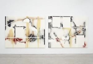 Two Mules, 2012 Elizabeth Neel