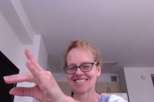 """The ASL sign for """"Star Trek"""""""