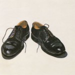 Wayne Thiebaud Black Shoes