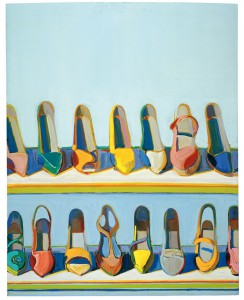 Wayne Thiebaud Shoe Rows