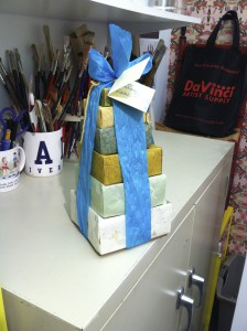 Origami (which I made for Rachel) behaving as it should