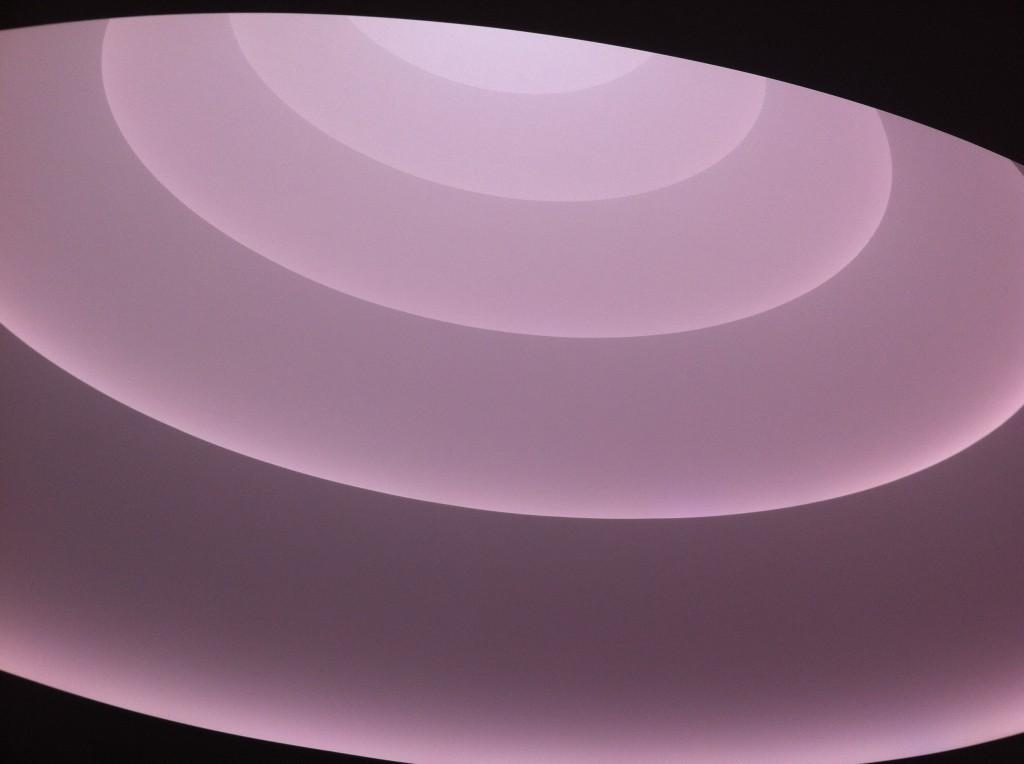 James Turrell's Aten Reign in the Guggenheim Rotunda