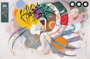 Wassily Kandinsky Courbe dominante, 1936 (Dominant Curve)
