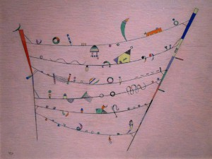 Kandinsky's Petits accents, 1940(Small Accents)