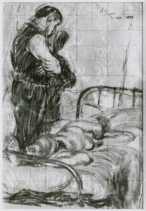 Study for The Camden Town Affair