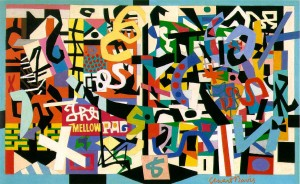 Stuart Davis The Mellow Pad
